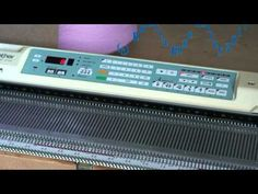 Inputting pattern into KH940 - YouTube