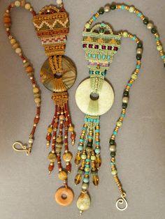 Joan Babcock, micro macrame jewelry