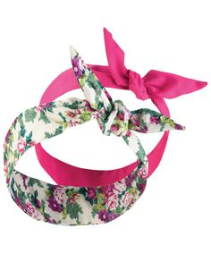 Joe Browns Pk/2 Very Vintage Headbands - add a little originality to your hair with a classic vintage style