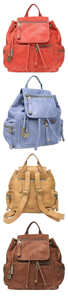 Looking for a cute backpack style purse? These ones from Lucky Brand are so great!