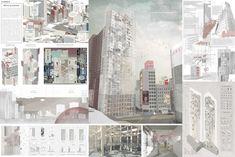 """ REINCARNATION "" - Tokyo Vertical Cemetery competition finalist"
