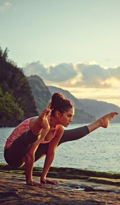"""""""For me, yoga is not just a workout - it's about working on yourself."""" -Mary Glover #EddieBauer"""
