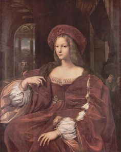 Joanna of Aragon,1518, Queen of Naples, Italy