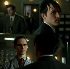 Edward nygma I know who you are .........then you know you standing to close -penguin