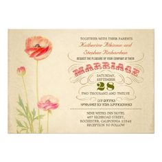 Shoppingvintage colorful  typographic wedding invitationYes I can say you are on right site we just collected best shopping store that have