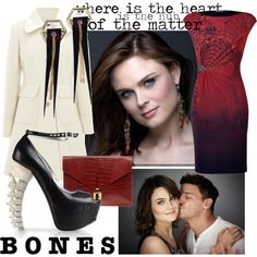 6/50. Temperance Brennan, created by clairewaverly.polyvore.com