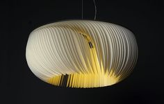 Beautiful JELLY lamp made of paper