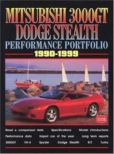 Mitsubishi 3000GT Dodge Stealth 1990-1999 -Performance Portfolio - http://musclecarheaven.net/?product=mitsubishi-3000gt-dodge-stealth-1990-1999-performance-portfolio