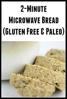 2 Minute Microwave Bread (Gluten Free/Paleo)
