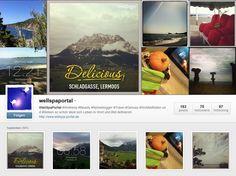 Auch auf Instagram ist der #WellnessBummler mit seinem #Reiseblog unterwegs