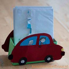 Bakje van papier en karton