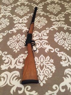 Haniç lever action 36 gauge - my new rifle, love it. Lever Action, Baseball