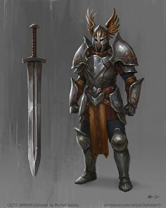 ArtStation - Celtic Armor, Michał Sałata