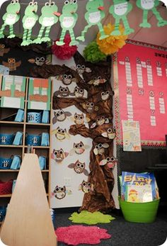 She has lots of good stuff  for all kinds of themes http://thefirstgradeparade.blogspot.com/2012/03/camping-capers-open-house-sadsville.html