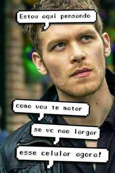 Klaus Vampire Diaries The Originals, The Vampire Diaries, The Orignals, Original Wallpaper, Tumblr Girls, Lock Screen Wallpaper, Pretty Little Liars, Cute Wallpapers, Tatoos