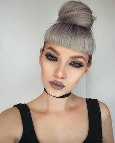 30 Mind Blowing Natural Remedies🌱🔝 That Will Give You Jaw-Dropping Hair Growth 🚀💥 . Beauty Makeup, Hair Makeup, Hair Beauty, Flawless Makeup, Grey Hair Treatment, Betty Bangs, Edgy Hair, Brown Blonde Hair, Hair Photo