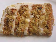 Pastel de zanahoria o pastel de zanahoria - Recetas Dulces - Dessert Recipes, Desserts, Carrot Cake, Diy Food, Banana Bread, Carrots, Cooking Recipes, Gluten Free, Sweets