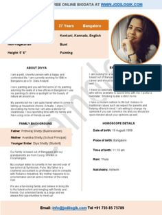 Biodata for matrimony of a working girl from a conservative family Biodata Format Download, Resume Format Download, Resume Format In Word, Cv Format, Christian Girls, Christian Marriage, Marriage Biodata Format, Bio Data For Marriage, Information And Communications Technology
