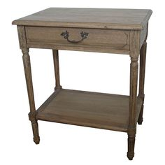 Weathered oak - bedside table