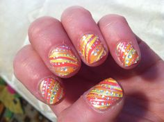 New stick on polish from Avon!  One of many designs   Order your today.   Youravon.com/bemecme