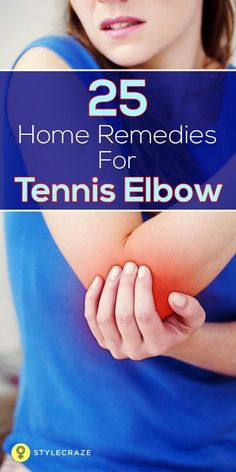Thankfully, there are several home remedies that not only hastens recovery from tennis elbow, but also helps alleviate the pain that comes with this condition. So, without much ado, here are the top 25 home remedies for tennis elbow that you can use to treat your tennis elbow. #Homeremedies