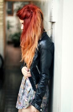 red-hair-with-ombre