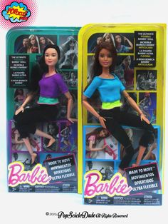Barbie Made to Move they are amazing dolls!!!! #barbie #barbiestyle #madetomove #fashiondoll #doll