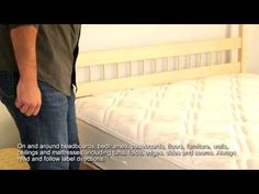 How To Identify Bed Bugs & Kill Them With Home Defense Dual Action Bedbug Killer Aerosol
