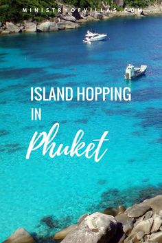 Island hopping in Phuket? Let's go! Click through for a guide to the best islands close to Phuket, including Phi Phi Islands, James Bond Island and more.