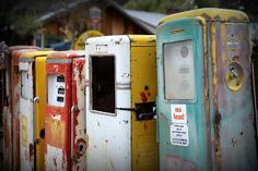 Photography ~ Old gas pumps