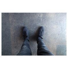"@ryanstelle's photo: ""New work shoes  #shoesforcrews"""