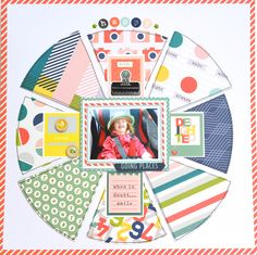 Going Places pie chart layout by tillyandarthur