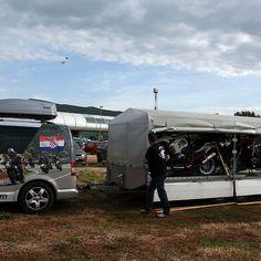 Motorradtour mit Transport