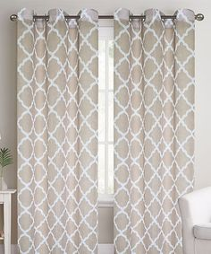 Look at this Prato Curtain Panel - Set of Two on #zulily today!