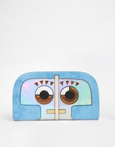 ASOS Robot Clutch Bag