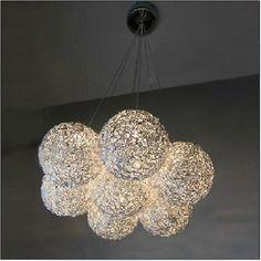 Wholesale Pendant Light - Buy Brand New Pendant Light G4 Light 7 Light Globular Aluminum Hanging Light for Bedroom Fashion LED, $212.57 | DHgate