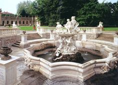 Villa Litta, 16th century (nearby) a must to visit and enjoy its nymphaeum: an amusement park of the past.