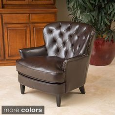 Shop for Mya Diamond Tufted Club Chair by Christopher Knight Home. Get free shipping at Overstock.com - Your Online Furniture Outlet Store! Get 5% in rewards with Club O!