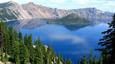 The average depth of Crate Lake is 1,438. The caldera is nearly  2,148 feet deep. It is the oldest lake in the United States.