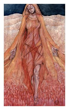 XVII The Star Print, Mary-el Tarot, Hand Signed by Artist, Tarot Art, Tarot Deck, Tarot Cards by MaryelTarot on Etsy https://www.etsy.com/listing/505733018/xvii-the-star-print-mary-el-tarot-hand