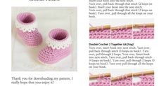 You can crochet beautiful baby booties as a gift or for your own little one with the Pink Lady Baby Booties Free Crochet Patterns. Quick Crochet, Crochet Bebe, Crochet For Kids, Crochet Baby Shoes, Crochet Baby Booties, Crochet Slippers, Crotchet Patterns, Baby Patterns, Crochet Crafts