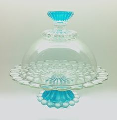 Unique One of A Kind Mid Size Bubble Cake Stand and by MarshHome, $55.00