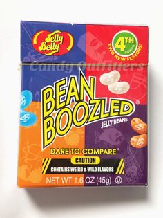 NEW 4TH EDITION  JELLY BELLY BEANBOOZLED JELLY BEANS - Extreme Candy - Gag Gift #JellyBelly