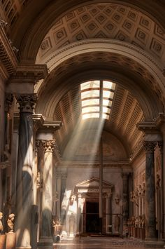 """Rome. """"The marble coolness of the long, image-bordered vistas made them a delightful refuge."""" __Henry James, Roderick Hudson"""