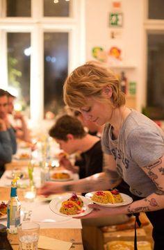 Refugees Welcome/ Dinner zugunsten von ProAsyl in Berlin