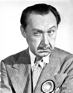 FRANKLIN PANGBORN - comedic character actor.  He many times played the store or office manager with a flair.
