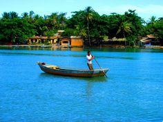 #caraivabahiabrazil caraiva bahia canoa