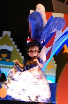 """it's a small world""  - Fantasyland / Magic Kingdom / Disney World."