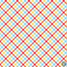 Zoo Mates Flannel Fabric Plaid - Multi