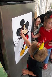 Pin the ears on the mouse and a ton of other MMC party ideas